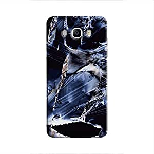 Cover It Up Rough Saphire Hard Case For Samsung Galaxy J5, Multi Color