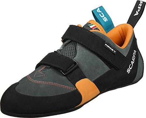 Scarpa Force V Scarpa arrampicata mangroove/papaya