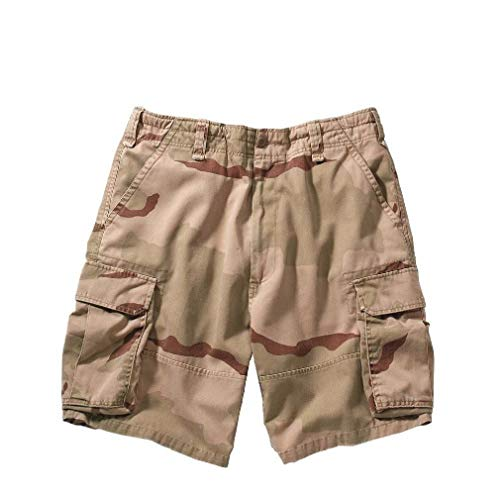 BlackC Sport Cargo Military Shorts Vintage Solid and Camo Paratrooper