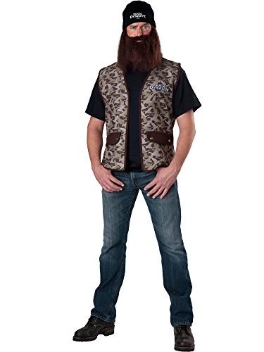 Duck Dynasty: Jase Adult Costume - One (Duck Dynasty Mens Jase Costumes)