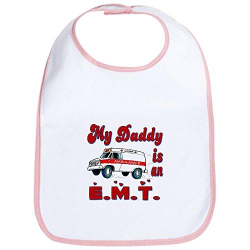 CafePress - My Daddy is an EMT Bib - Cute Cloth Baby Bib, Toddler Bib