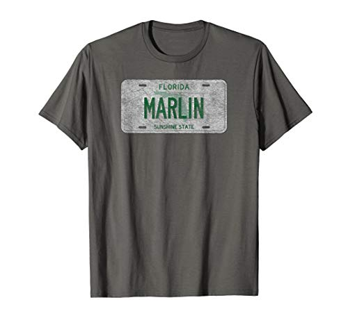 Florida Licence Plate Gift - Marlin Plate