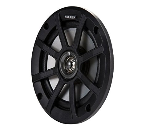 Kicker PSC654 (42PSC654) PSC65 6.5-Inch (160mm) PowerSports Weather-Proof Coaxial Speakers, 4-Ohm