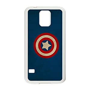 Captain America shield Marvel Comics logos Phone case for Samsung galaxy s 5
