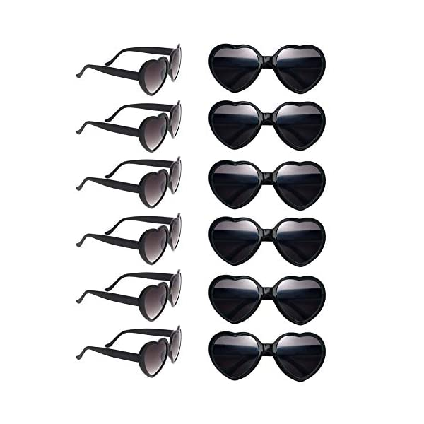 Dozen-Pack-Heart-Sunglasses-Party-Favor-Supplies-Holiday-Accessories-Collection