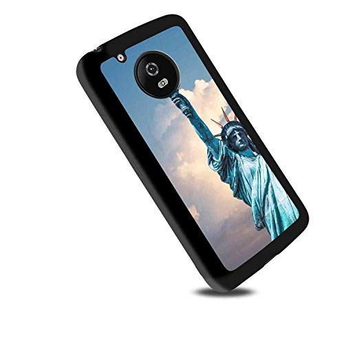 (Statue of Liberty TPU Case for Moto G5 (2017) 5