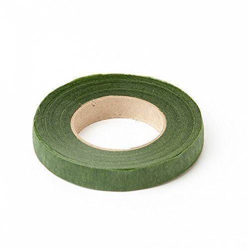 Stemtex Stem Flower Tape - Moss - 13 Millimetre x 27.5 Metre - 1 Roll