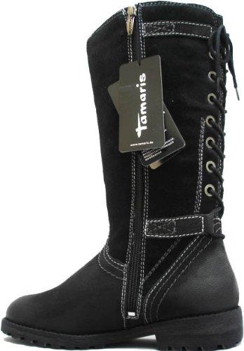 Tamaris, Botas para mujer Negro - Noir - Nero (nero)