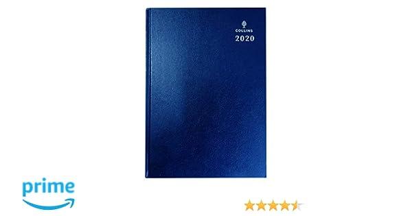 Collins Desk 2020 - Agenda (A4, día por página), color azul