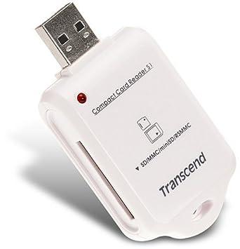 Amazon.com: Transcend USB 2.0 lector de tarjetas ts-rds1 ...