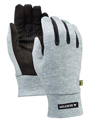 Glove Burton Snowboard Womens (Burton Women's Touch N Go Liner, Heathered Grey, Large)