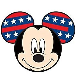 Disney Mickey Mouse Ears & Star Wars Car Antenna and Pencil Toppers (Stars & Stripes)