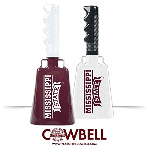 Mississippi State Banner Logo Cowbell - 11 inch Cowbell with ()