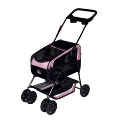 Pet Gear, Inc. Travel System ll Pet Stroller for Cats and Dogs, Pink, My Pet Supplies