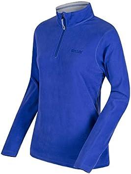 Regatta Womens Sweethart Lightweight Half Zip Active Hiking Symmetry Fleece