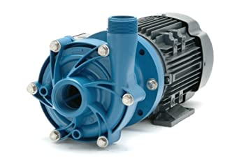 Finish Thompson DB7P-M227 Centrifugal Magnetic Drive Pump, Polypropylene, 1/2 HP, 230/460V, 3 Phases, 34.0 Max Feet of Head, 69.0 gpm