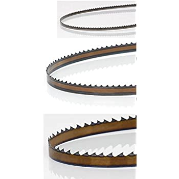 timber wolf bandsaw blades. timber wolf bandsaw three blade combo ideal for curve/ripping/resawing blades