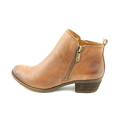 Lucky Brand Damen Basel Boot Toffee Leder