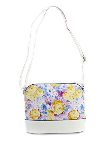 f1b48c3491 ... Lilly & Jane, Borsa a tracolla donna multicolore Lilac / White Small ...