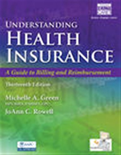 Pdf Health Understanding Health Insurance: A Guide to Billing and Reimbursement (with Premium Web Site, 2 terms (12 months) Printed Access Card and Cengage EncoderPro.com Demo Printed Access Card)