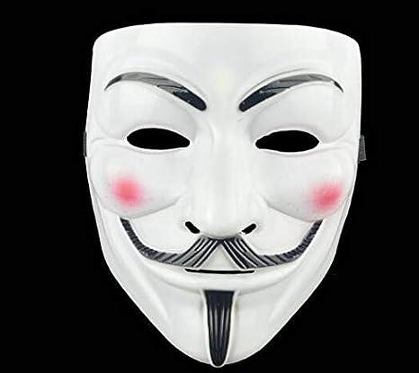 Blevla V para Vendetta Guy máscara de Halloween Disfraz Cosplay ...