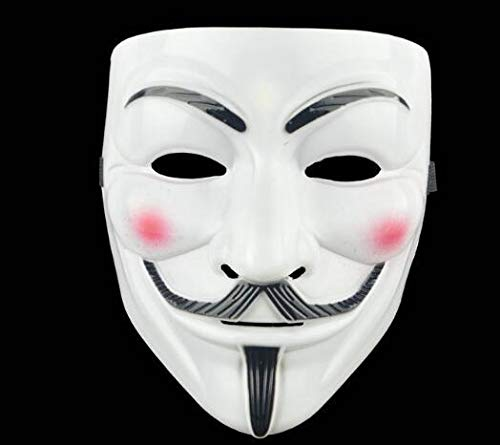 Blevla V for Vendetta Guy Mask Halloween Costume Cosplay Party Mask]()