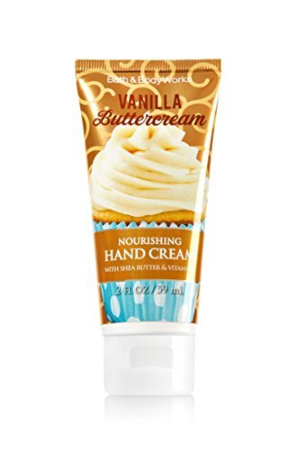 Bath and Body Works Vanilla Buttercream 2 Ounce Nourishing Hand (Scented Vanilla Hand Cream)
