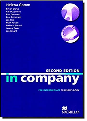 Book In Company Second Edition Pre-intermediate: Teacher's Book
