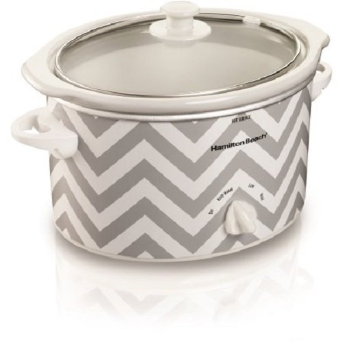 Hamilton Beach 3-Quart Stoneware Slow Cooker Chevron Print Review