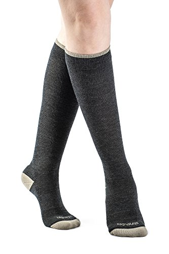 SIGVARIS Merino Wellbeing Calf High Compression Socks 15-20mmHg -