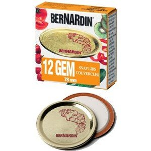 Bernardin Mason Jar Lids - GEM