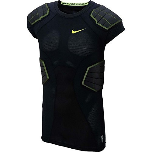 Nike Mens Pro Combat Hyperstrong Compression 4-Pad Shirt Black XXL