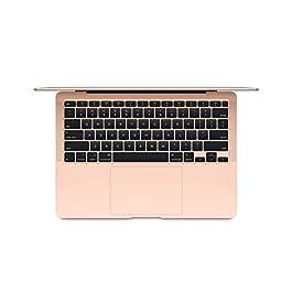 Apple MacBook Air (13-inch, 8GB RAM, 256GB SSD Storage) – Gold (Latest Model)
