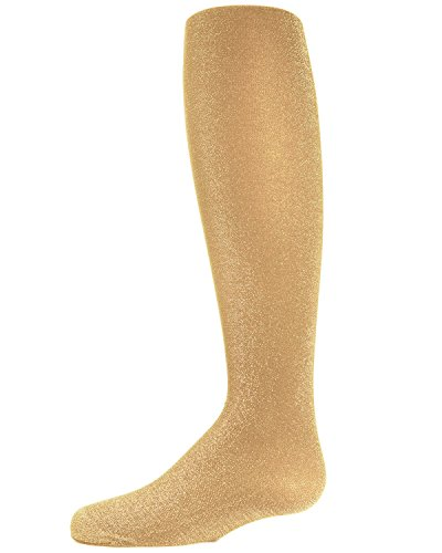 MeMoi Sparkly Girls Tights | Girls Shimmer Tights 10-12