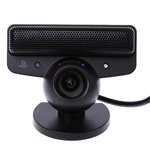 ZUHANGMENG Webcam Eye Motion Sensor Camera With Microphone, Built-in Noise Canceling Mic, for Sony Playstation 3 PS3 Game System