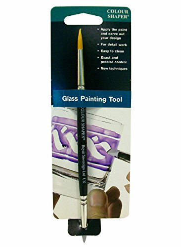 Colour Shaper Double-End Glass Paint Tool #2 by Colour Shaper