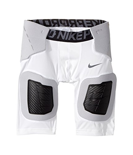 Nike Kids Pro Hyperstrong Core Football Short Little Kids/Big Kids White/White/Dark Grey/Flint Grey Boys Shorts