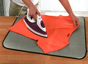 Uzitec Portable Table Top Ironing Pad Ideal To Take On Holiday:  Amazon.co.uk: Kitchen U0026 Home