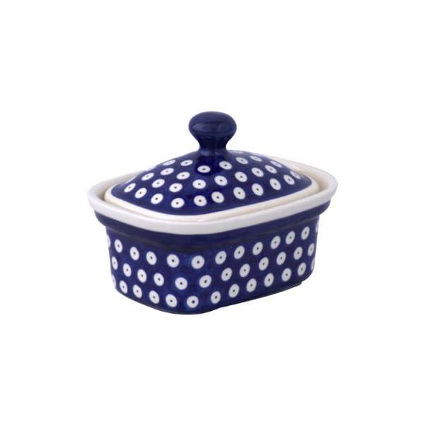 Bunzlauer keramik margarinedose motif 42