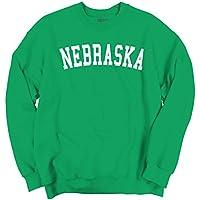 Classic Teaze Nebraska State T Shirt Sweatshirt Souvenir University Font Sweatshirt
