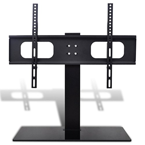 Iron Bracket + Glass Base TV Bracket with Base 23.6 x 15.7