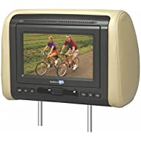 Audiovox Avxmtghr1m 7 Widescreen Headrest Monitor Black Gray Tan