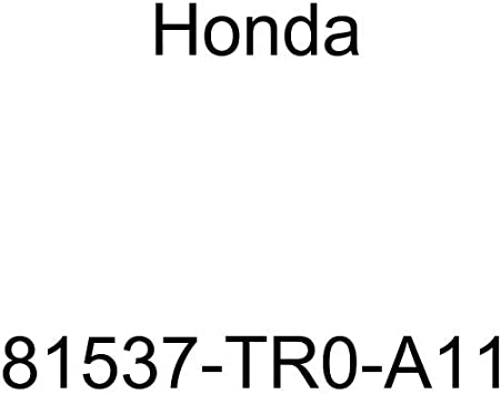 Left Honda Genuine 81531-S30-A01ZB Seat Cushion Trim Cover Front