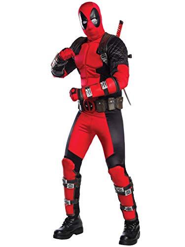 Rubie's Costume Co Deadpool Grand Heritage Costume, Red, Standard
