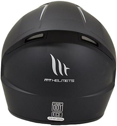 MT Stinger Motorcycle Helmet Solid Scooter M 57-58cm Black