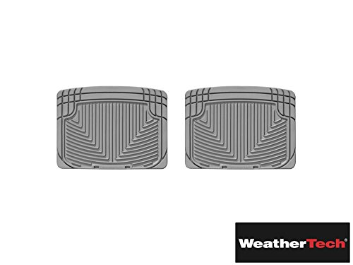 All Weather Floor Mats Gray Rear   Fits Jeep Patriot   2007 2008 2009 2010 2011 2012   07 08 09 10 11 12  Wea Uqm 365  Rear Only