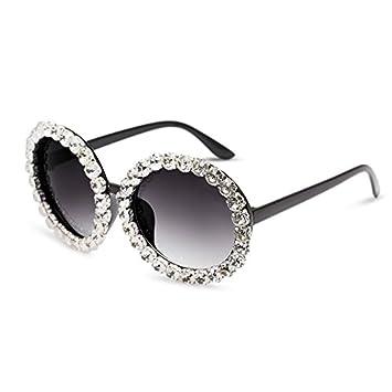ZHANGYUSEN Nuevas gafas de sol mujer ovalada redonda gafas ...