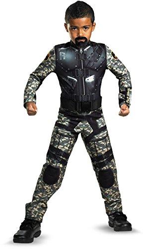 G.i. Joe Retaliation Roadblock Classic Costume, Black/Camo,