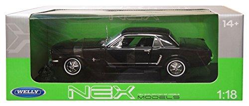 1/18 フォード マスタング クーペ 1964 1/2(ブラック) WE12519HBK