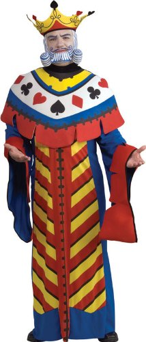 Playing Card King Adult Costume - Large